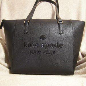 Kate Spade Sienne Logo Tote (Black)